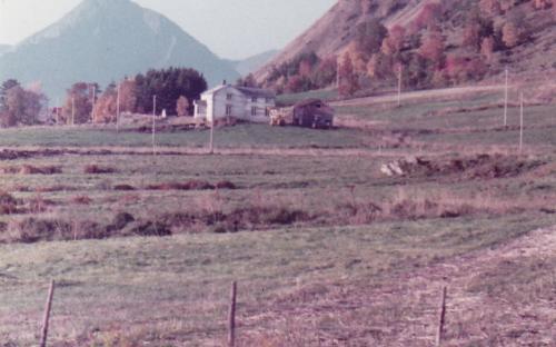 Bilde av Øvergården på Steilo,antakelig fra 1980-tallet